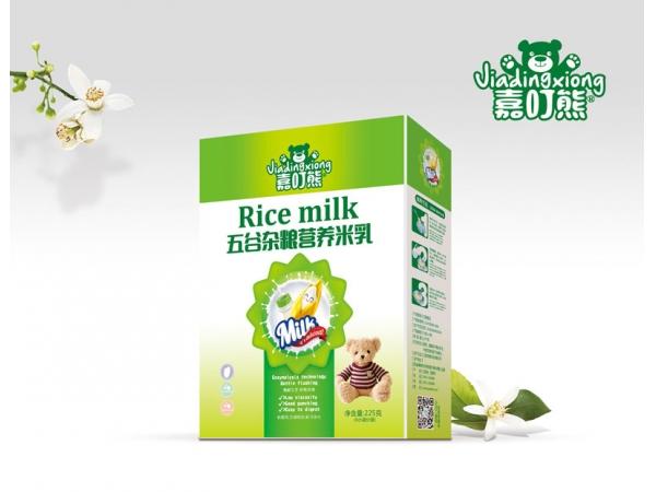 五谷杂粮营养米乳